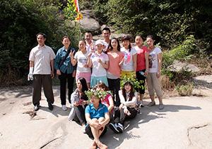 芝麻花餐饮服务团队旅游